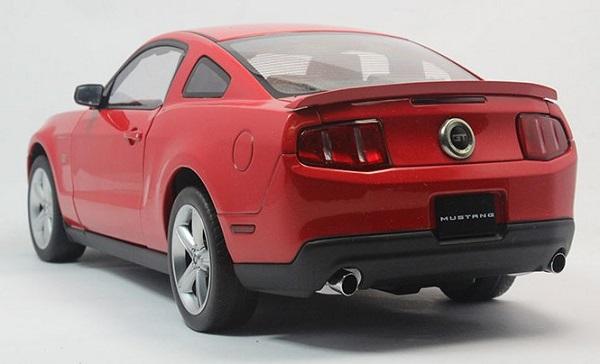 โมเดลรถ โมเดลรถเหล็ก โมเดลรถยนต์ Ford GT 2010 red 3