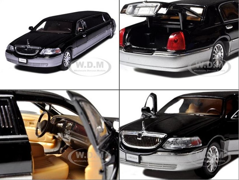 รถเหล็ก รถโมเดล 2003 limousine