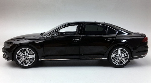โมเดลรถ โมเดลรถเหล็ก โมเดลรถยนต์ Volkswagen PHIDEON black 3