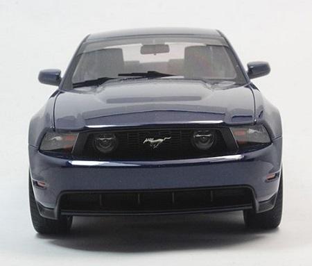 โมเดลรถ โมเดลรถเหล็ก โมเดลรถยนต์ Ford GT 2010 navy 5