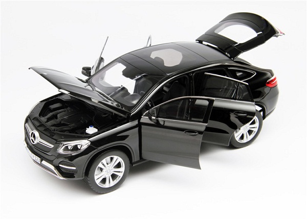 โมเดลรถ โมเดลรถเหล็ก โมเดลรถยนต์ Benz GLE 2015 Black 3