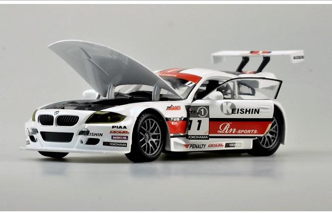 โมเดลรถ โมเดลรถเหล็ก โมเดลรถยนต์ BMW Z4 #11 3