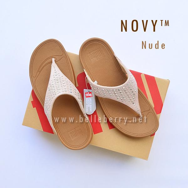 **พร้อมส่ง** FitFlop : NOVY : Nude : Size US 7 / EU 38