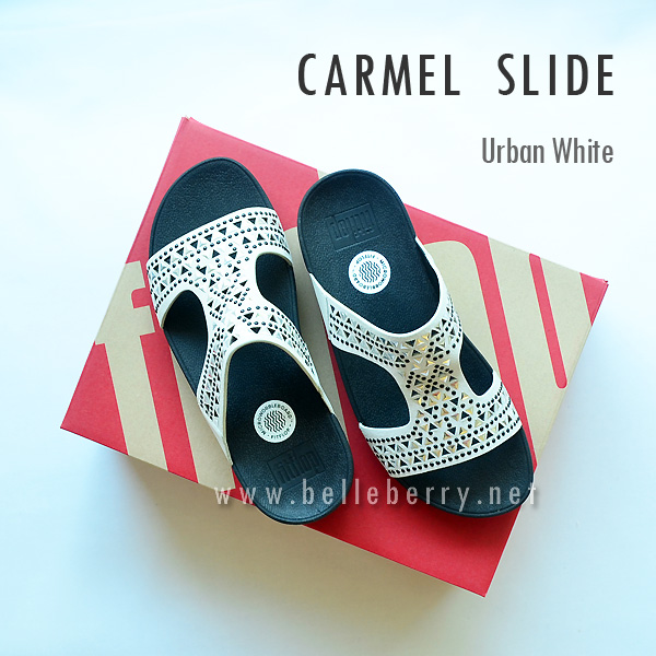 FitFlop : CARMEL Slide : Urban White : Size US 7 / EU 38