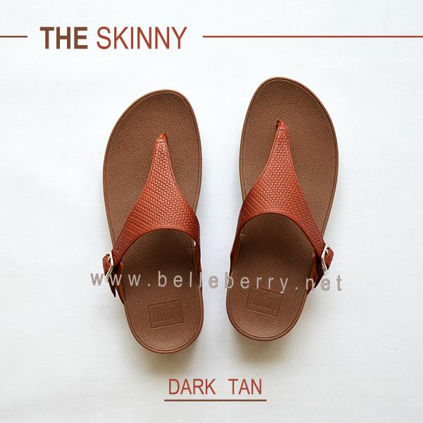 * NEW * FitFlop : The Skinny : Dark Tan : Size US 5 / EU 36