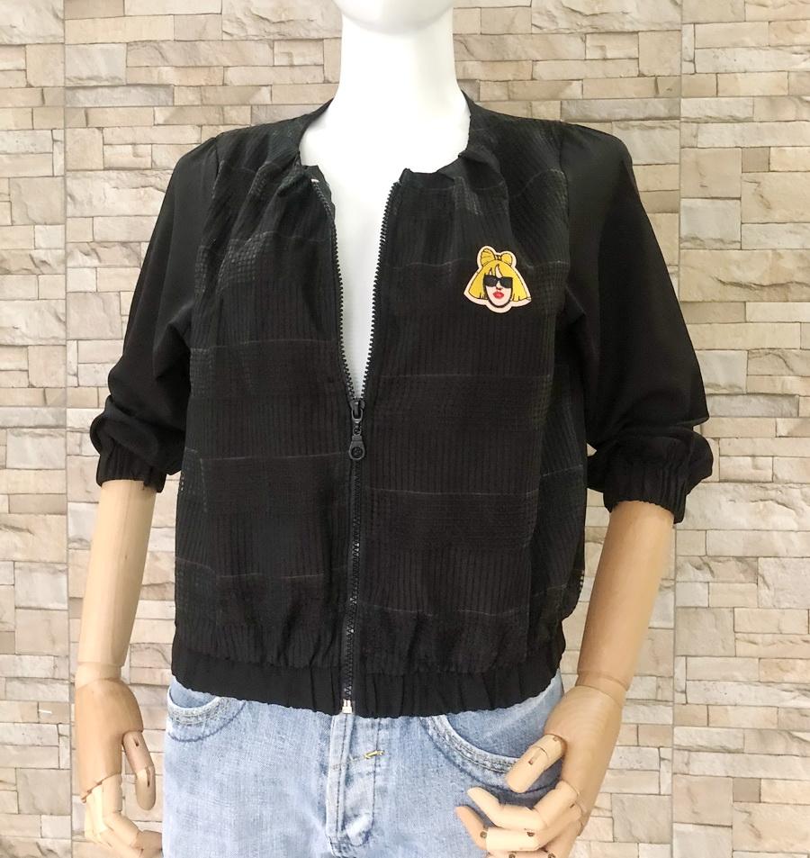 ส่ง:เสื้อแจ็คเก็ตใส่คลุมกันแดดแต่งปักติดอาร์มเก๋ๆ/อก37