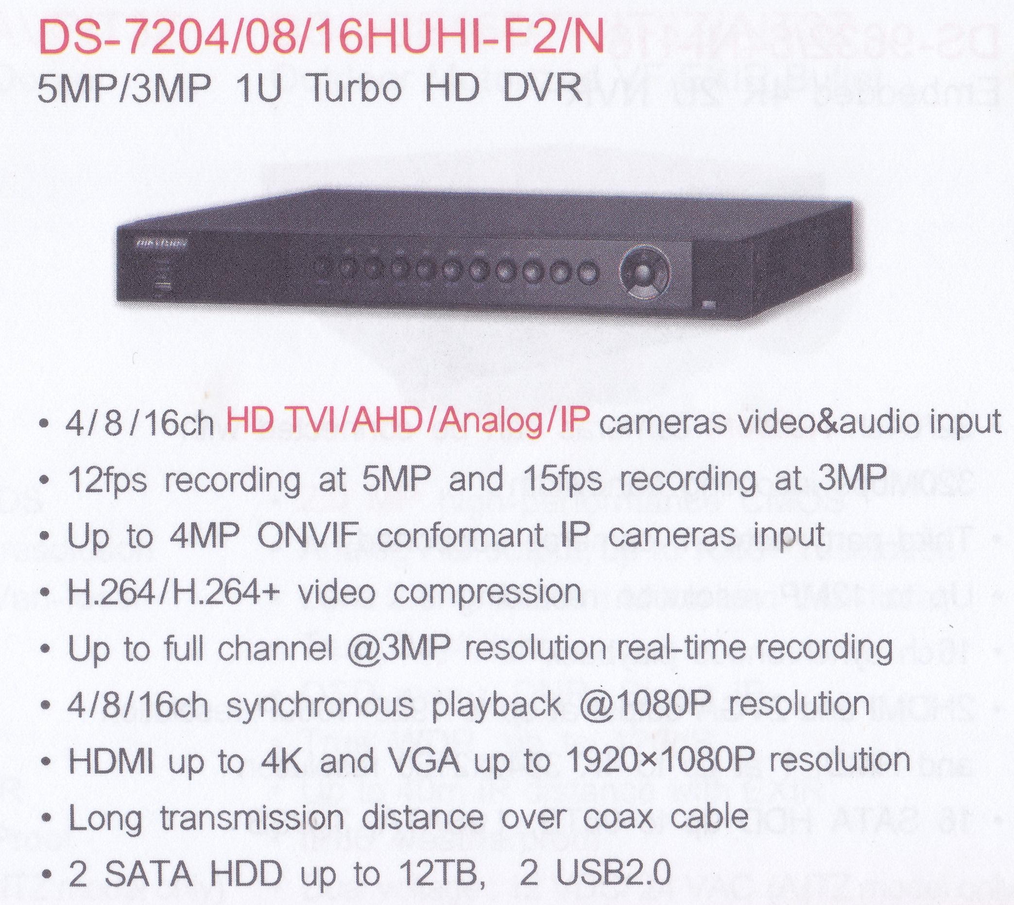 DS-7204 16HUHI-F2N