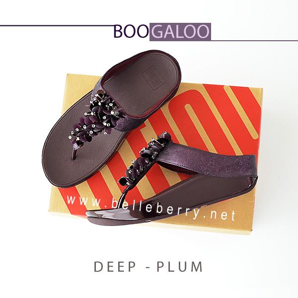 FitFlop : BOOGALOO : Deep Plum : Size US 6 / EU 37