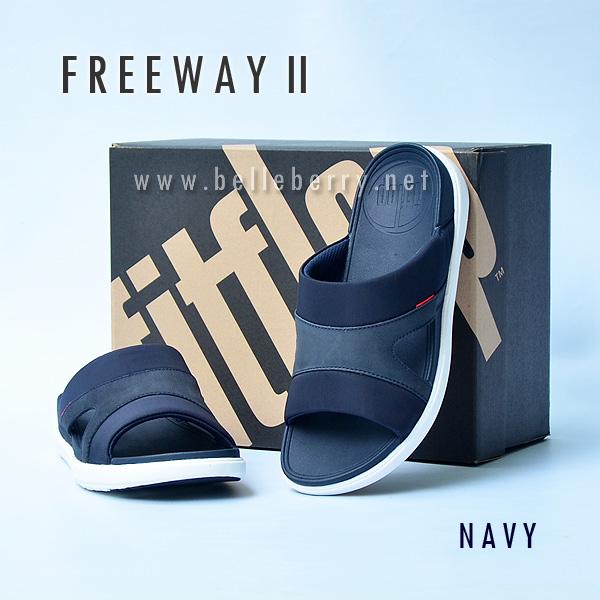 **พร้อมส่ง** FitFlop FREEWAY II : Navy : Size US 8 / EU 41