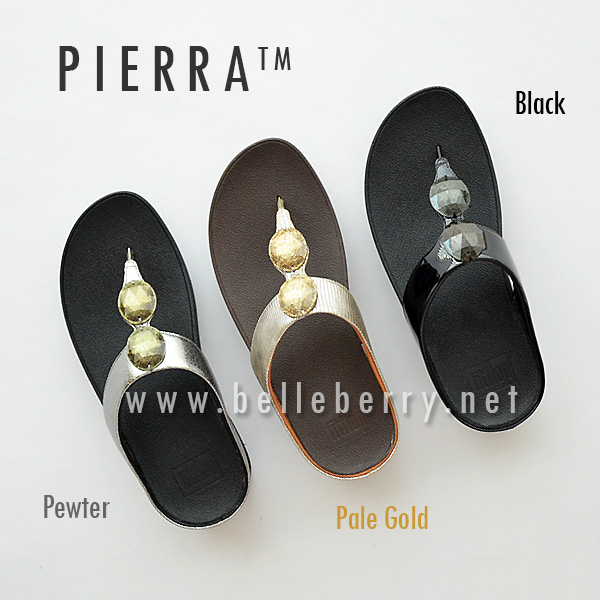 512c46a8b9472b FitFlop Pierra   Pewter   Size US 6   EU 37 - รองเท้า fitflop ของแท้  รุ่นใหม่ พร้อมส่ง   Inspired by LnwShop.com