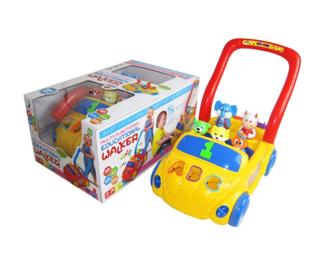 รถผลักเดิน รถหัดเดิน Baby Walker ส่งเสริมการเรียนรู้ มีไฟมีเสียง