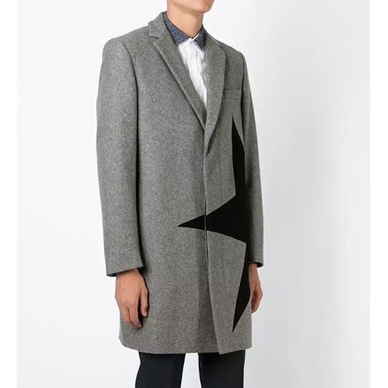 เสื้อโค้ทMsgm Star Coat Mens FW15