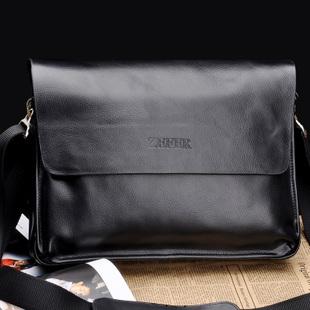 กระเป๋าสะพายข้าง ZEFER สีดำ ZEB01