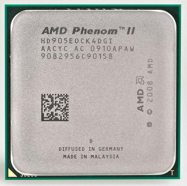 [AM3] Phenom II X4 905e 2.5Ghz