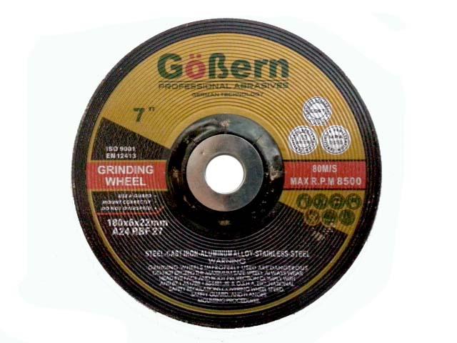 แผ่นเจียร 7 นิ้ว (แผ่นเจียรหนา) GoBern