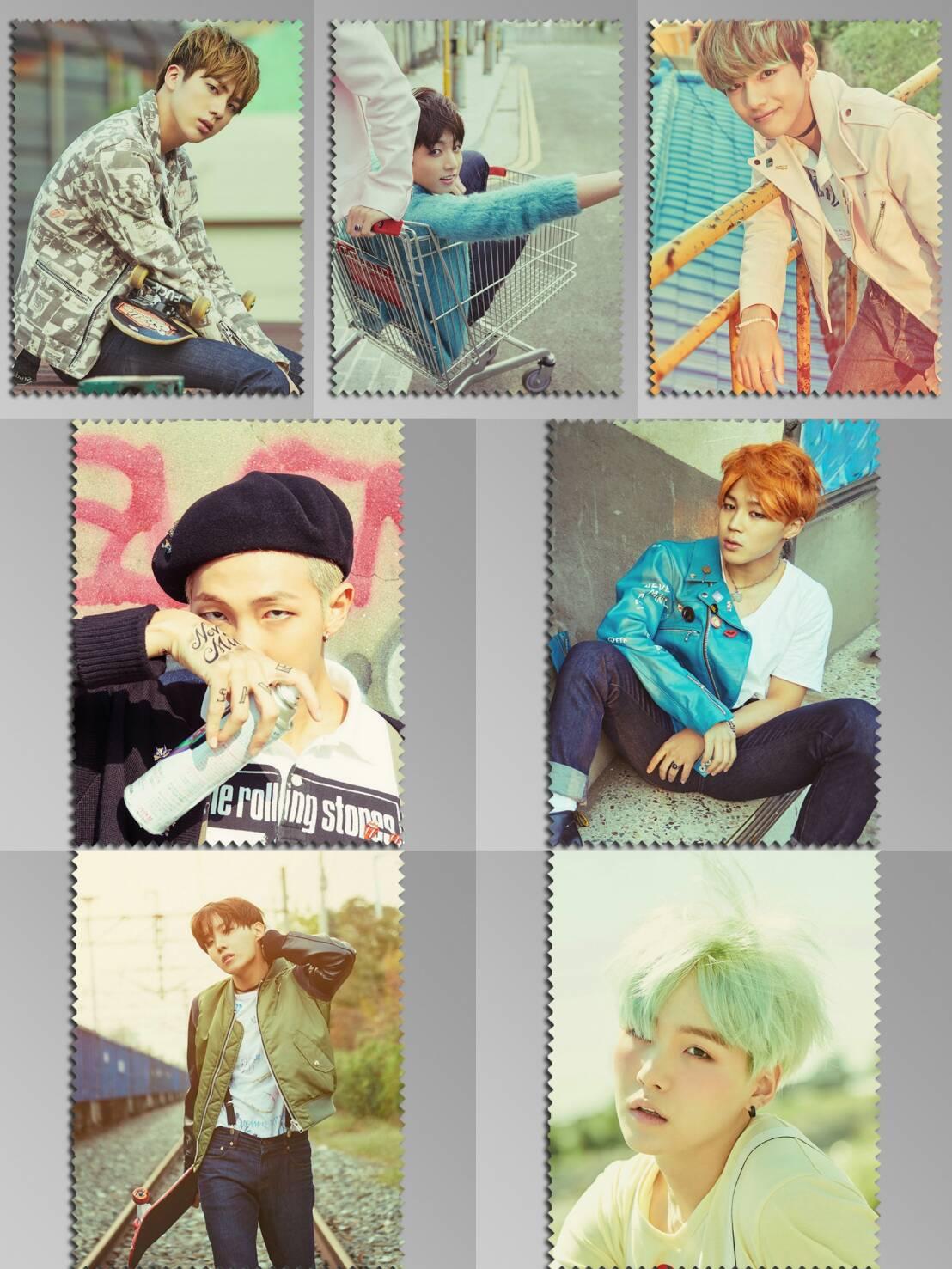 ผ้าเช็ดแว่น BTS In the Mood for Love pt.2 ( ระบุเมมเบอร์ )