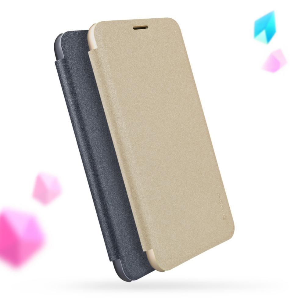 เคส Huawei P9 ของ Nillkin Sparkle Leather Case - สีดำ