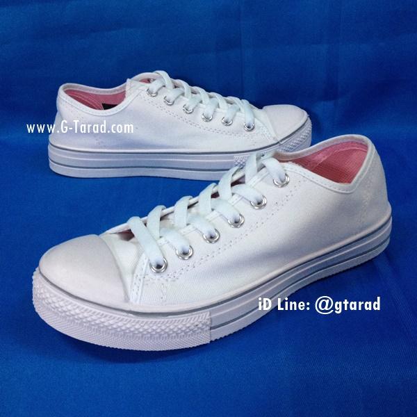 Giga V127 - รองเท้าผ้าใบสีขาวกีก้า No.35-43