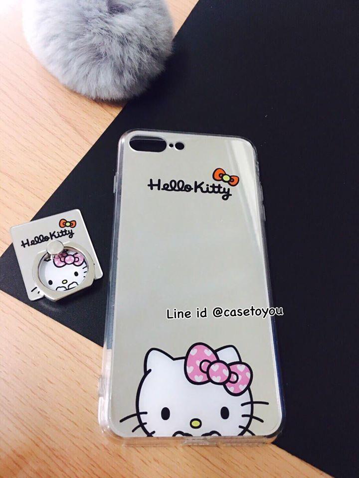 เคสกระจกเงา Kitty iPhone 5/5S/SE