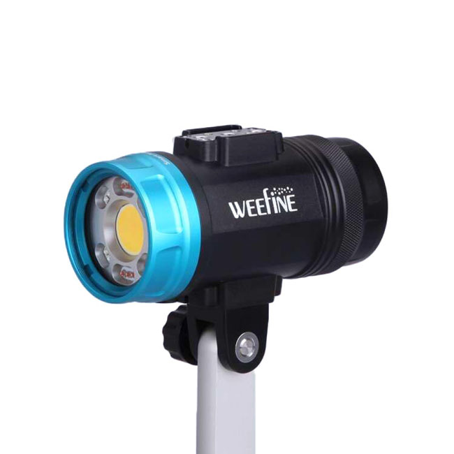 Weefine Smart Focus 6000 Lumens Video Light with Flash Mode