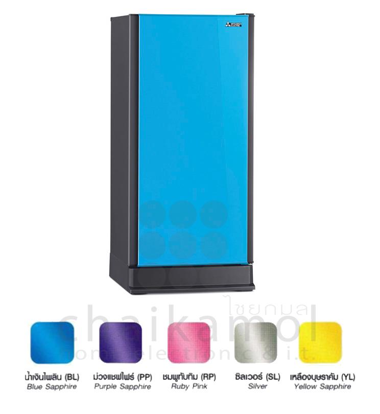 ตู้เย็น MITSUBISHI MR-18GA สี น้ำเงินไพลิน ( BL )