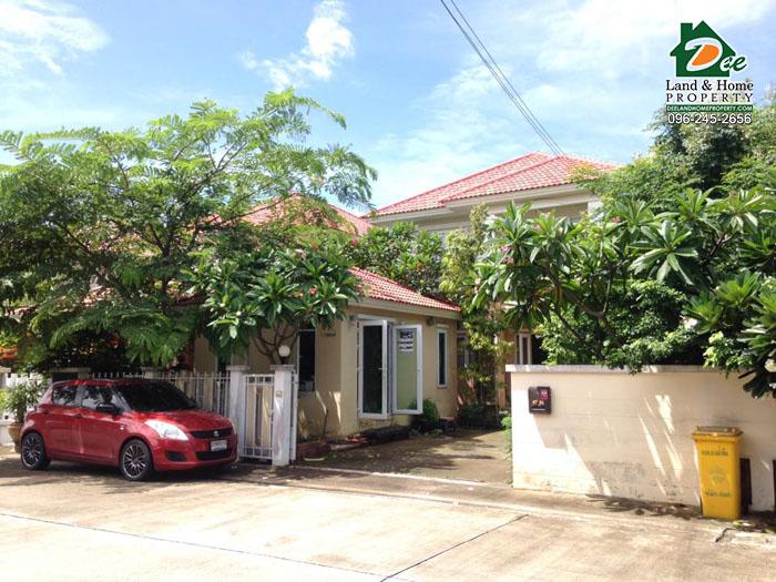 บ้านเดี่ยว 2ชั้น 70.2ตรว. หมู่บ้านนาราวัลย์ ถ.เอกชัย-บางบอน บางน้ำจืด เมืองสมุทรสาคร