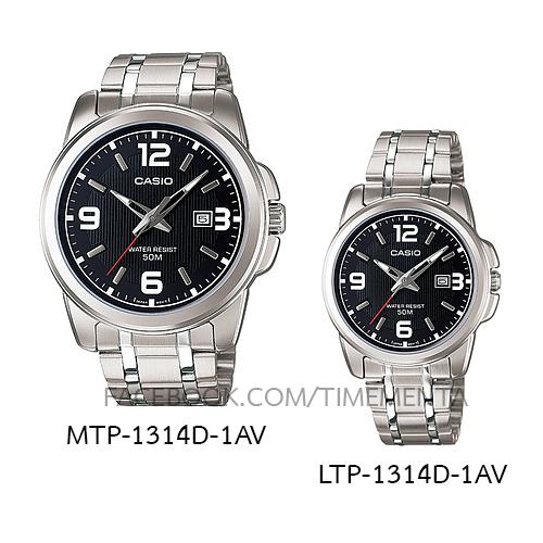 Casio MTP-1314D-1AV+LTP-1314D-1AV