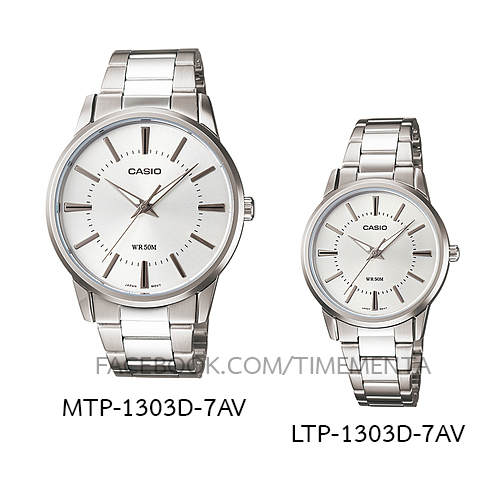 Casio MTP-1303D-7AV+LTP-1303D-7AV