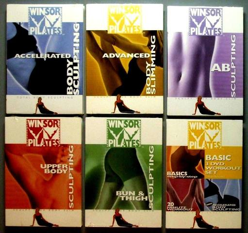 Winsor Pilates Pack - Mari Winsor (6 Videos) 3 DVDs