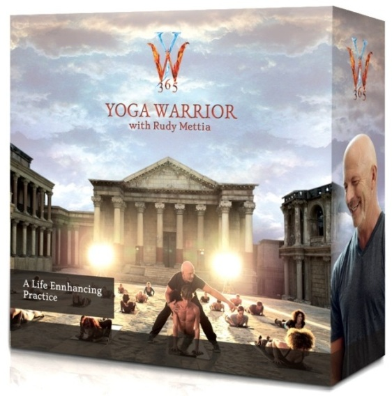 Yoga Warrior 365 with Rudy Mettia 14 DVDs