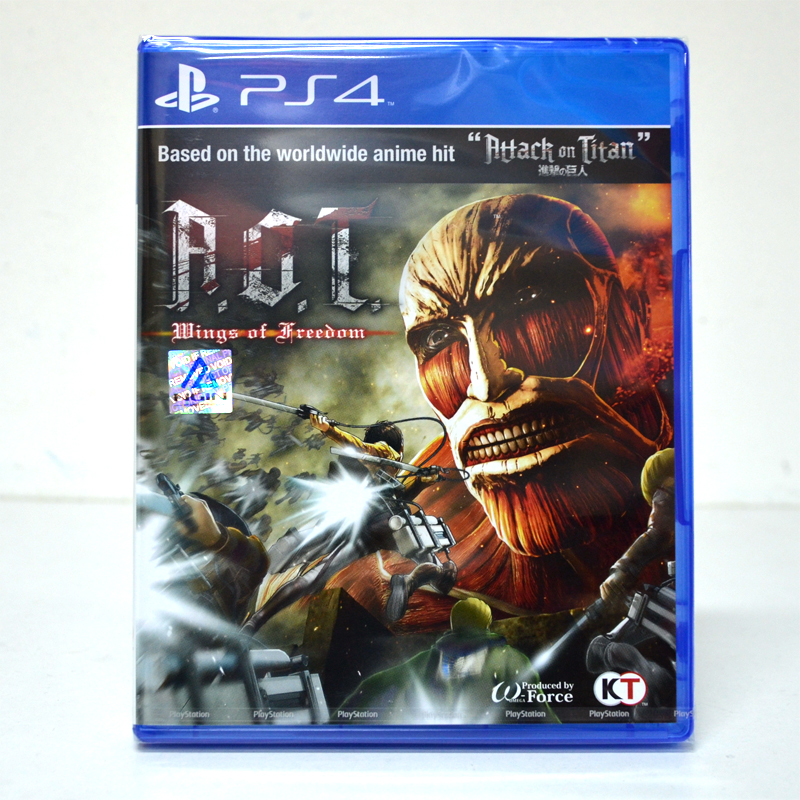 PS4™ A.O.T. Attack on Titan: Wings of Freedom Zone 2 EU/ Voice:JP, Subtitle:EN