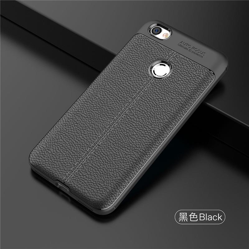 เคส Xiaomi Redmi Note 5A Prime ซิลิโคน TPU ลายหนัง (เคสนิ่ม)