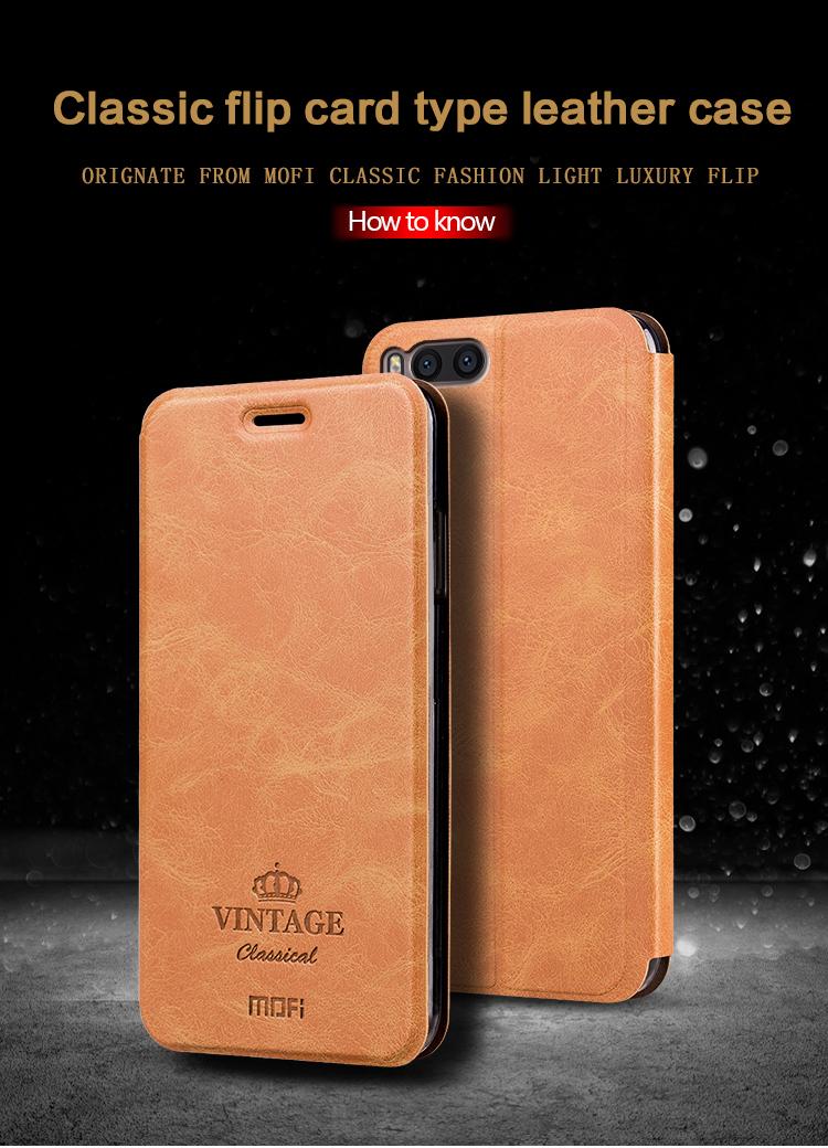 เคส Xiaomi Mi Note 3 ฝาพับหนังอเนกประสงค์ MOFI