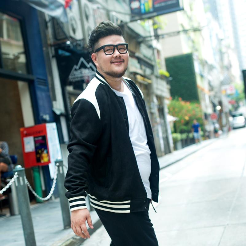 พรีออเดอร์ เสื้อแจ๊คเก็ตกันหนาว แฟชั่นเกาหลีสำหรับผู้ชายไซส์ใหญ่ มีถึง 8xl อก 59.05 นิ้ว แขนยาว เก๋ เท่ห์ - Preorder Large Size Men Korean Hitz Long-sleeved Jacket