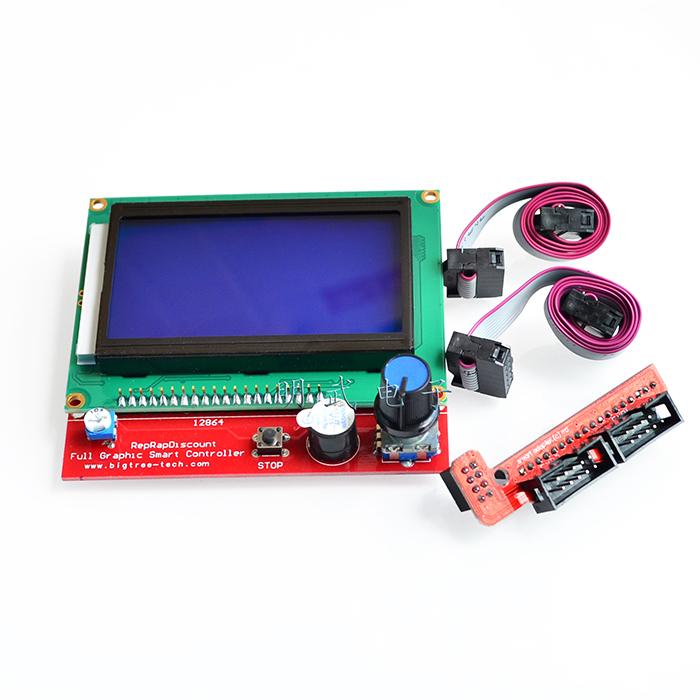 LCD 12864 LCD control panel 3D printer RAMPS1.4