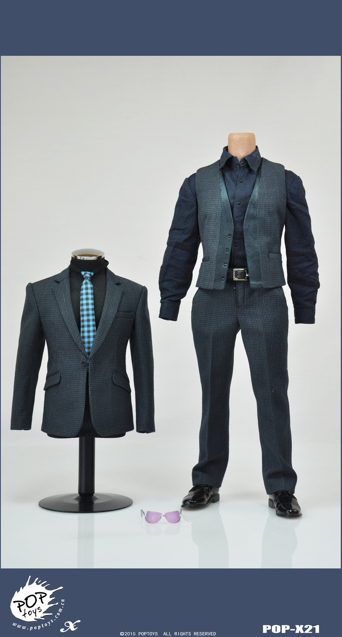 POPTOYS X21 The Avengers II TONY Suits With Sunglasses