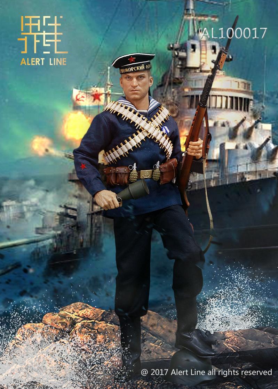 Alert Line AL100017 WWII Soviet Red Navy Equipment Set