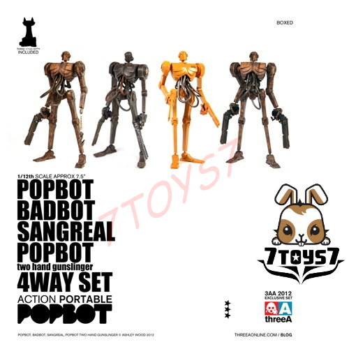 ThreeA Action Portable - Popbot 4Way set (popbot badbot sangreal popbot)
