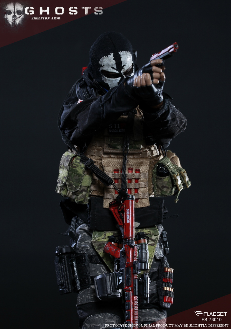 "FLAGSET FS 73010 END WAR 1//6 Scale End War Death Squad /""K/"" Caesar Action Figure"