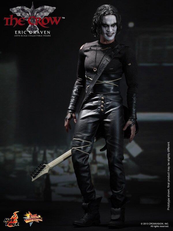 HOT TOYS MMS210 The Crow - Eric Draven