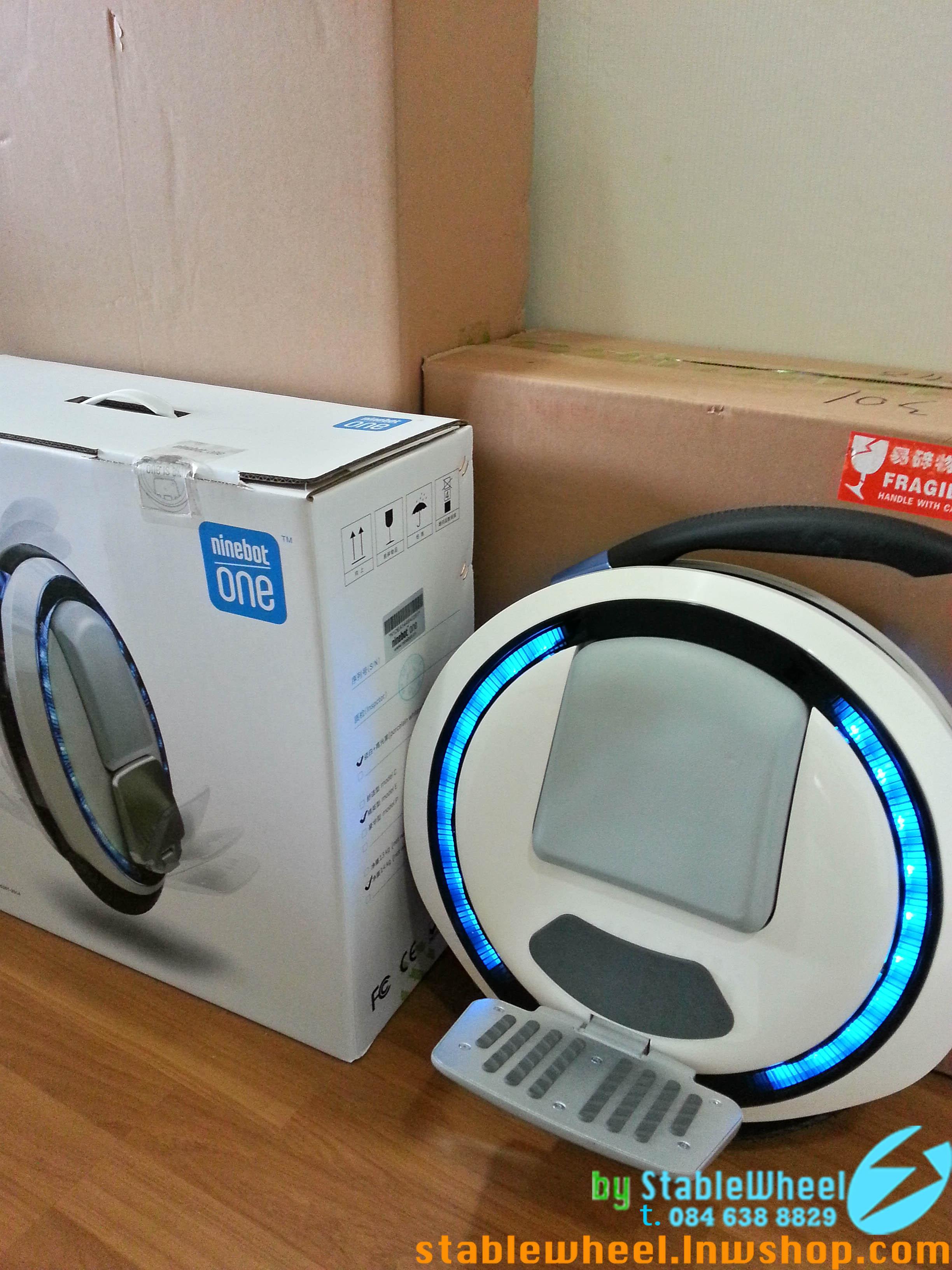 ขาย Unicycle Wheel electric ไฟฟ้าล้อเดียว ninebot one t.0846388829 แจ้ stable wheel