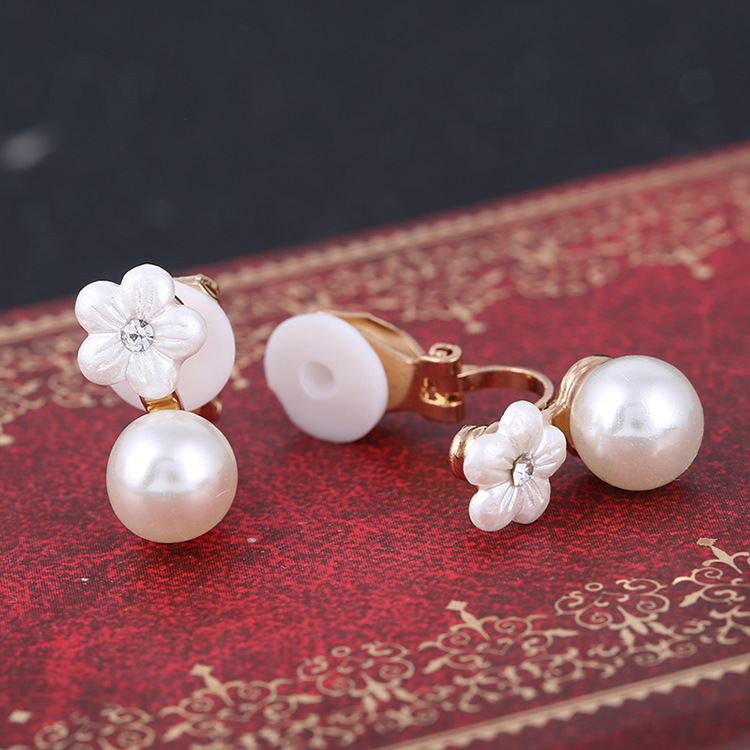 Fleur Pearl Clip