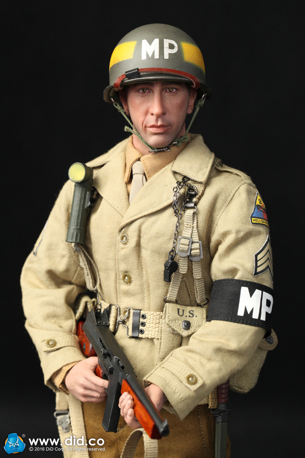 """DID A80116 2ND ARMORED DIVISION """"MILITARY POLICE"""" - BRYAN"""