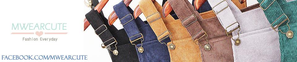 MWEARCUTE ขายกางเกงในผู้หญิง กางเกงในเอวสูง เสื้อยืดตัวอักษร เอี๊ยมลูกฟูก แว่นกันแดด เครื่องสำอาง