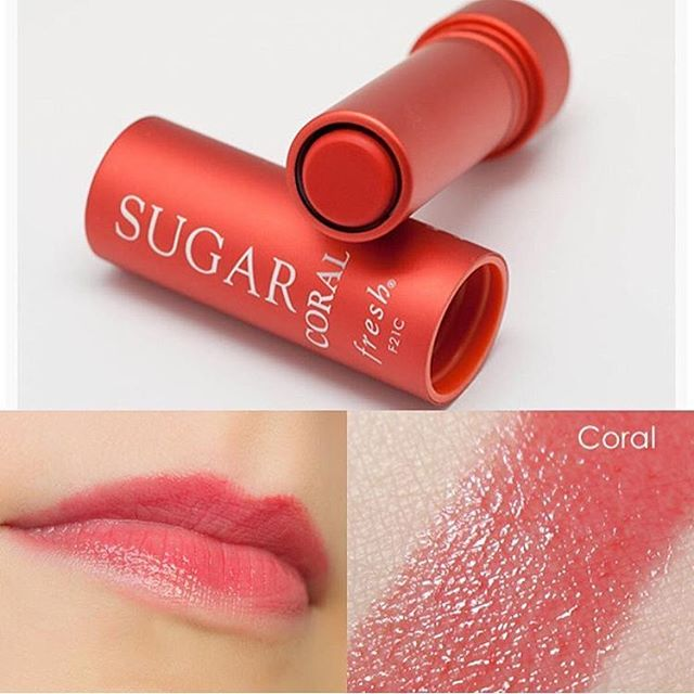 **พร้อมส่ง**Fresh Sugar Coral Tinted Lip Treatment Sunscreen SPF 15 ขนาด 4.3 g. ลิปทินท์บำรุงริมฝีปากสูตรเข้มข้น ทำให้ความชุ่มชื้นแก่ริมฝีปาก มอบความเรียบเนียนและยังช่วยป้องกัน ริมฝีปากจากการทำลายของแสงแดด มาพร้อมกับเฉดสีส้มปะการังอันชุ่มฉ่ำ ,