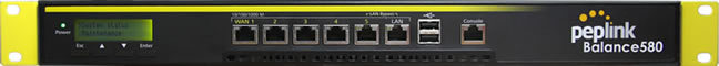 Peplink BPL-580 Five WAN Link Load Balance Control Router Gigabit