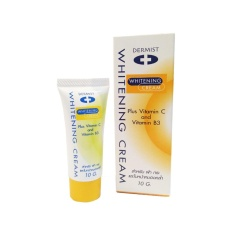Dermist Whitening Cream เดอร์มิสท์ ไวทเทนนิ่ง ครีม 10 g.
