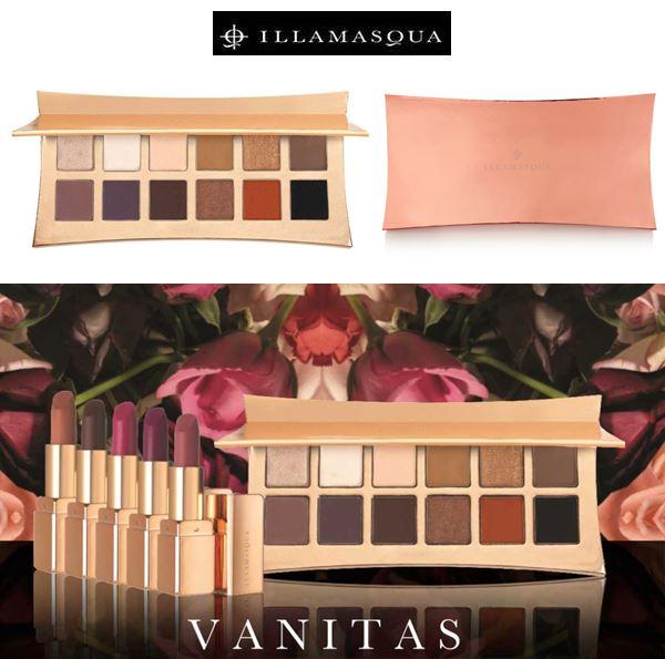 **พร้อมส่ง**Illamasqua Vanitas Rose Gold Palette อายแชโดว์ พาเลตต์ใหม่ จากILLASMASQUEโทนนู้ดธรรมชาติ 12 เฉดสีที่เหมาะกับดวงตาของหญิงสาวที่สุด และตอบโจทย์การแต่งตาของคุณได้ครบในตลับเดียว ,