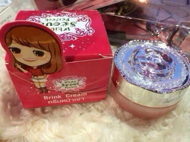 Brink Cream ครีมหน้าเงา By White Seoul Perfect