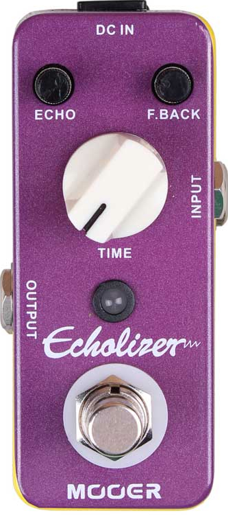 Mooer Echolizer - Digital Delay Pedal (Analog sound characteristic)